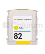 Inkoustová cartridge / náplň HP č.82 C4913A (Yellow) 80ml